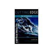 CUTTING EDGE PRE INTERMEDIATE WITH MINI-DICTIONARY STUDENTS BOOK(editura Longman, autori:SARAH CUNNINGHAM,PETER MOOR,JANE COMYNS CARR isbn:0-582-38260-2)