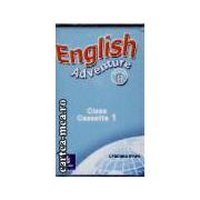 English adventure starter B Class Cassette 1+2(editura Longman isbn:0-582-79153-7)