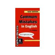 COMMON MISTAKES IN ENGLISH(editura Longman, autor:T.J. FITIKIDES isbn:0-582-34458-1)