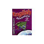 ENGLISH ADVENTURE 2 PUPIL'S BOOK(editura Longman, autor: ANNE WORRALL isbn: 0-582-79385-8)