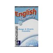 English adventure starter B-songs&Chants Cassette(editura Longman isbn:0-582-79158-8)