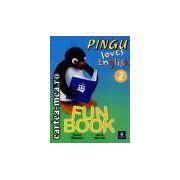 PINGU LOVES ENGLISH FUN BOOK2(editura Longman, autori:DIANA WEBSTER,ANNE WORRALL isbn:058246549-4)