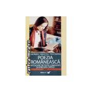 POEZIA ROMANEASCA-ANTOLOGIE DE TEXTE COMENTATE SI APRECIERI LITERARE
