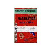 Matematica+romana cls3 concurs