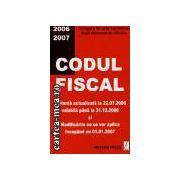 Codul fiscal-actualizatla 22.07.2006