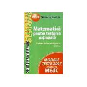 Matematica-testare nationala 2007