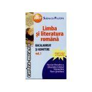 Limba si literatura romana-bac si admitere vol1/2007