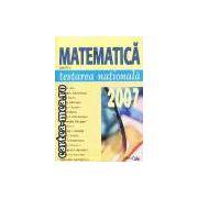 Matematica-testare 2007