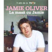 La masa cu Jamie-carte de bucate(editura Curtea Veche, autor:Jamie Oliver isbn:973-669-266-3)