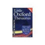 Little oxford thesaurus new