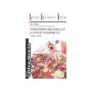 Panorama deceniului literar romanesc 1940-1950