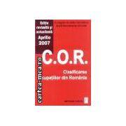 C.O.R.-Clasificarea ocupatiilor din Romania