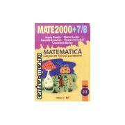 Mate 2000+7/8 clasa 3