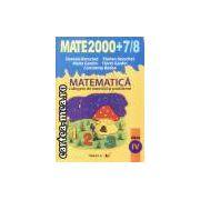 Matematica clasa 4 2007/2008