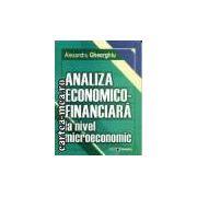 ANALIZA ECONOMICO - FINANCIARA LA NIVEL MICROECONOMIC