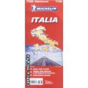 Italia/italy Harta turistica