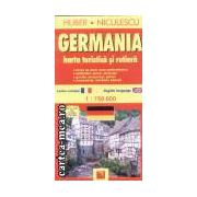 Germania harta turistica si rutiera r-e