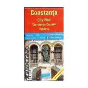 CONSTANTA - PLANUL ORASULUI + JUD. CONSTANTA, STATIUNI
