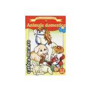 Animale domestice-carte de colorat 3-4 ani