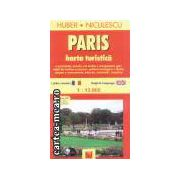 Paris harta turistica/tourist map