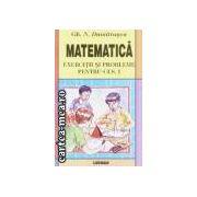 Matematica-culegere de exercitii si probleme pentru cls I