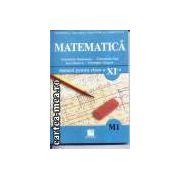 Matematica-manual pentru clasa a XI-a M1