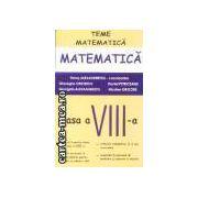 Teme matematica clasa a VIII-a partea I
