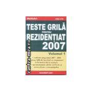 Teste grila pentru rezidentiat 2007 volumul 1