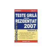 Teste grila pentru rezidentiat 2007 volumul 2