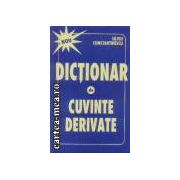 Dictionar de cuvinte derivate
