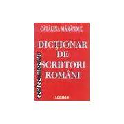 Dictionar de scriitori romani