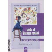 Limba si literatura romana evaluare curente pentru clasa a VIII-a
