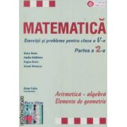 Matematica clasa aV-a partea II Aritmetica-algebra,Elemente de geometrie