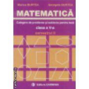 Matematica culegere de probleme si subiecte pentru teza clasa a V-a semestrul II