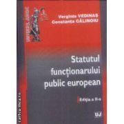 Statutul functionarului public european