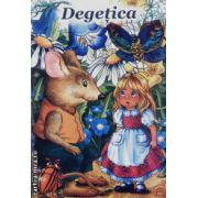 Degetica-carte de colorat