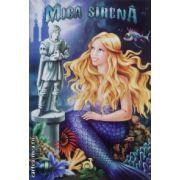 Mica sirena-carte de colorat