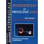 Rezidentiat in medicina 2003