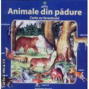 Animale din padure-carte cu ferestruici