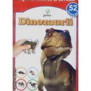 Dinozaurii-lipesc, colorez si invat...