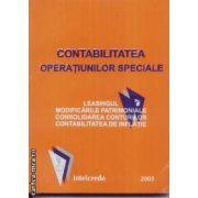 Contabilitatea operatiunilor speciale
