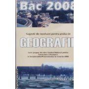 Geografie bac 2008