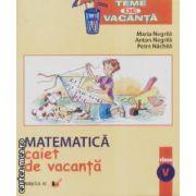 Matematica caiet de vacanta clasa V