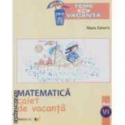 Matematica caiet de vacanta clasa VI