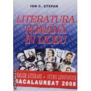 Literatura romana in liceu