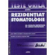 Teste grila pentru rezidentiat stomatologie