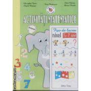 Activitati matematice fise de lucru nivel 5-7 ani
