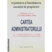 Cartea administratorului 20 noiembrie 2006