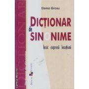 Dictionar de sinonime lexic expresii locutiuni