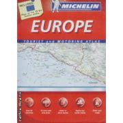 Europe tourist and motoring atlas